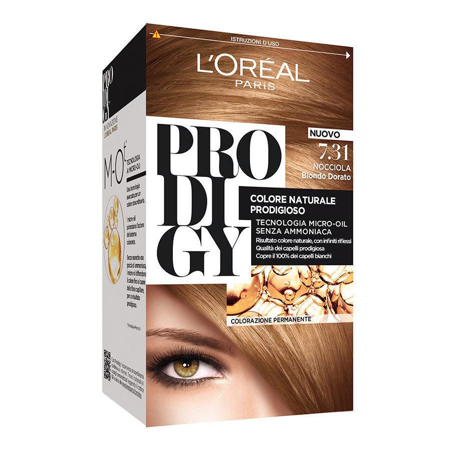 L Oreal Prodigy n. 7.31 biondo dorato nocciola Cod.48200 - L Oreal b95596da6a2f