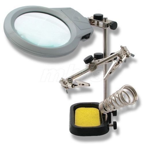 SUPPORTO CON 2 LED  HOLD & LIGHT Cod.33400210 - La Fayette